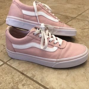 Light pink Vans 500714